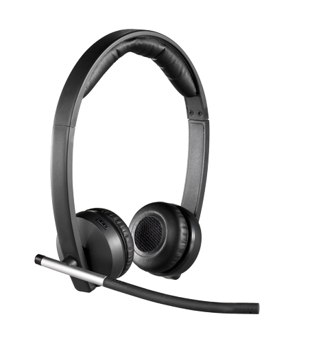 Logitech H820E Bezdrátová sluchátka dual