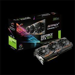 ASUS STRIX-GTX1070-8G-GAMING 8GB/256-bit, GDDR5, DVI, 2xHDMI, 2xDP - lehce poškozené balení