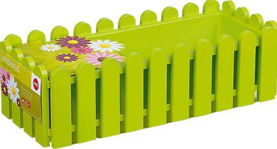 Truhlík Emsa Landhaus, 75 cm, zelený