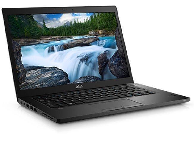 """DELL Latitude 7480/i7-7600U/8GB/256GB SSD/Intel HD 620/14.0"""" FHD/Win 10 Pro 64bit/Black"""