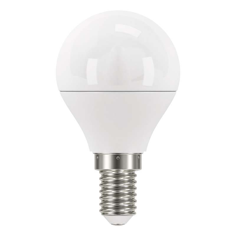 Emos LED žárovka MINI GLOBE, 6W/40W E14, CW studená bílá, 470 lm, Classic A+