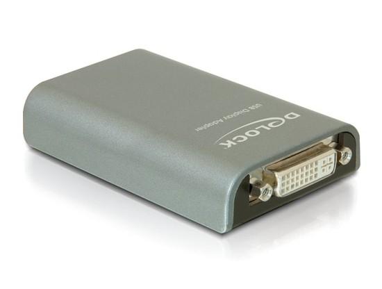 Delock adaptér USB -> DVI/VGA/HDMI