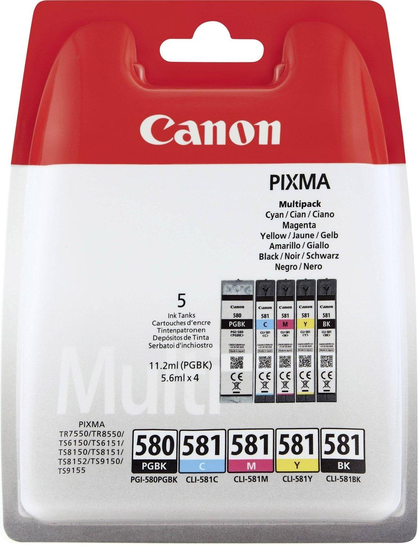 Canon cartridge INK PGI-580/CLI-581 BK/CMYK MULTI BL SEC