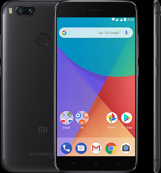 Xiaomi Mi A1 Global Black/5,5´´ FullHD/2GHz OC/4GB/64GB/SD/2xSIM/13MPx/3080mAh
