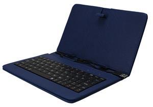 """iGET F7BL Pouzdro 7"""" s klávesnicí - modrá"""