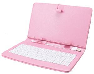 """iGET F7P Pouzdro 7"""" s klávesnicí - růžová"""