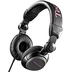 DJ sluchátka Panasonic RP-DJ1200E-K, černá - CZ distribuce