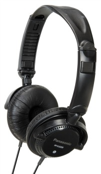 DJ sluchátka Panasonic RP-DJS200E-K, černá - CZ distribuce