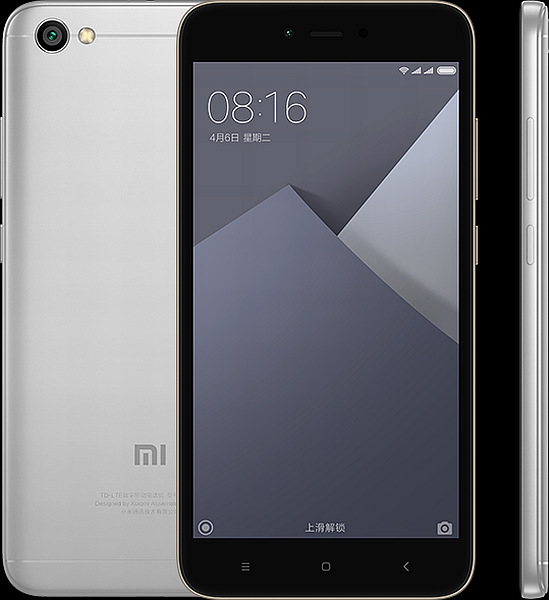 Xiaomi Redmi Note 5A Global Grey/5,5´´ HD/1,4GHz QC/2GB/16GB/SD/2xSIM/13MPx/3080mAh