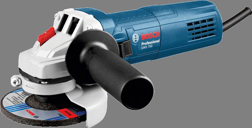 Úhlová bruska Bosch GWS 750-115 Professional, 750 W, krabice, 0601394000