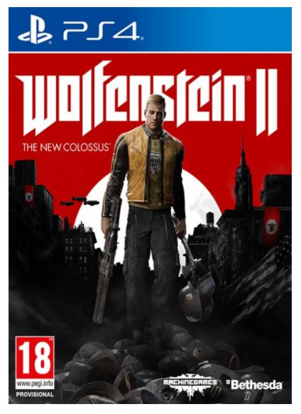 PS4 - Wolfenstein II The New Colossus Collector's Edition