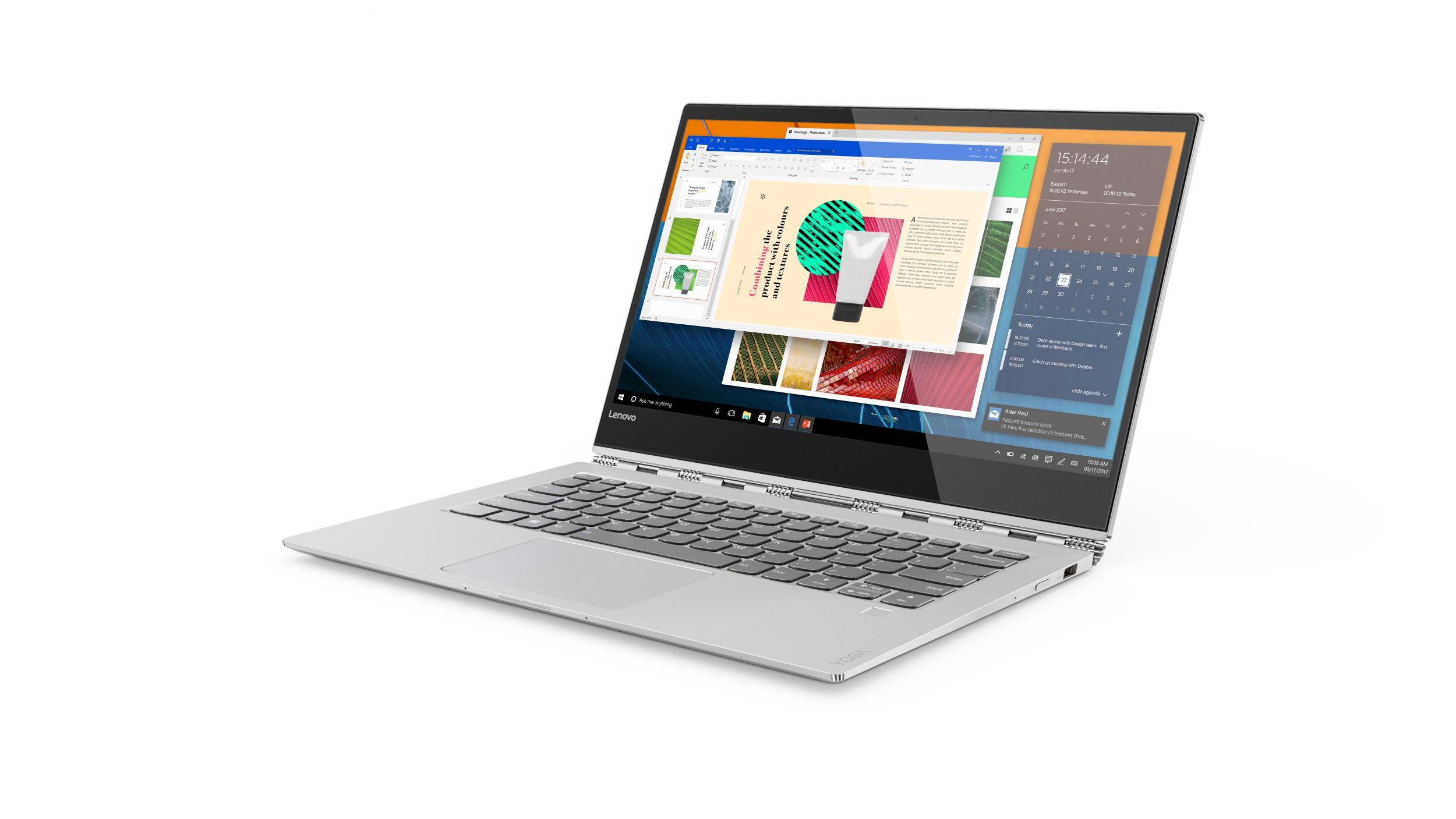 "Lenovo YOGA 920-13IKB i5-8250U 3,40GHz/8GB/SSD 256GB/13,9"" FHD/IPS/multitouch/ActivePen/WIN10 stříbrná 80Y7001YCK"