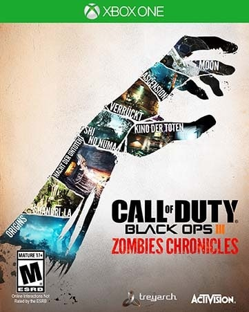 XONE -Call of Duty Back Ops III Zombies Chronicles