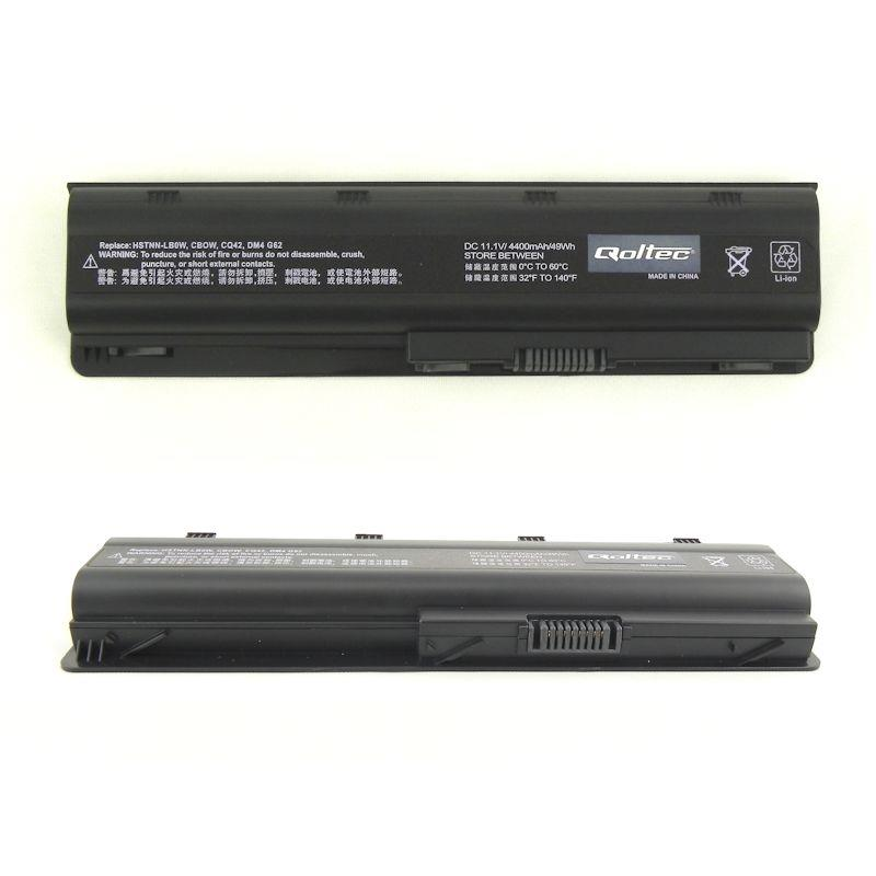 Qoltec Long Life baterie pro notebooky HP/Compaq CQ62, 10.8-11.1V | 4400mAh