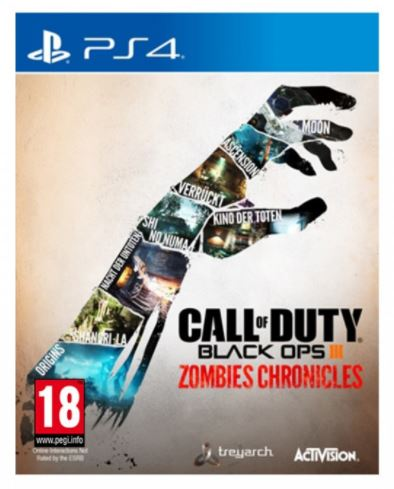 PS4 - Call of Duty Back Ops III Zombies Chronicles
