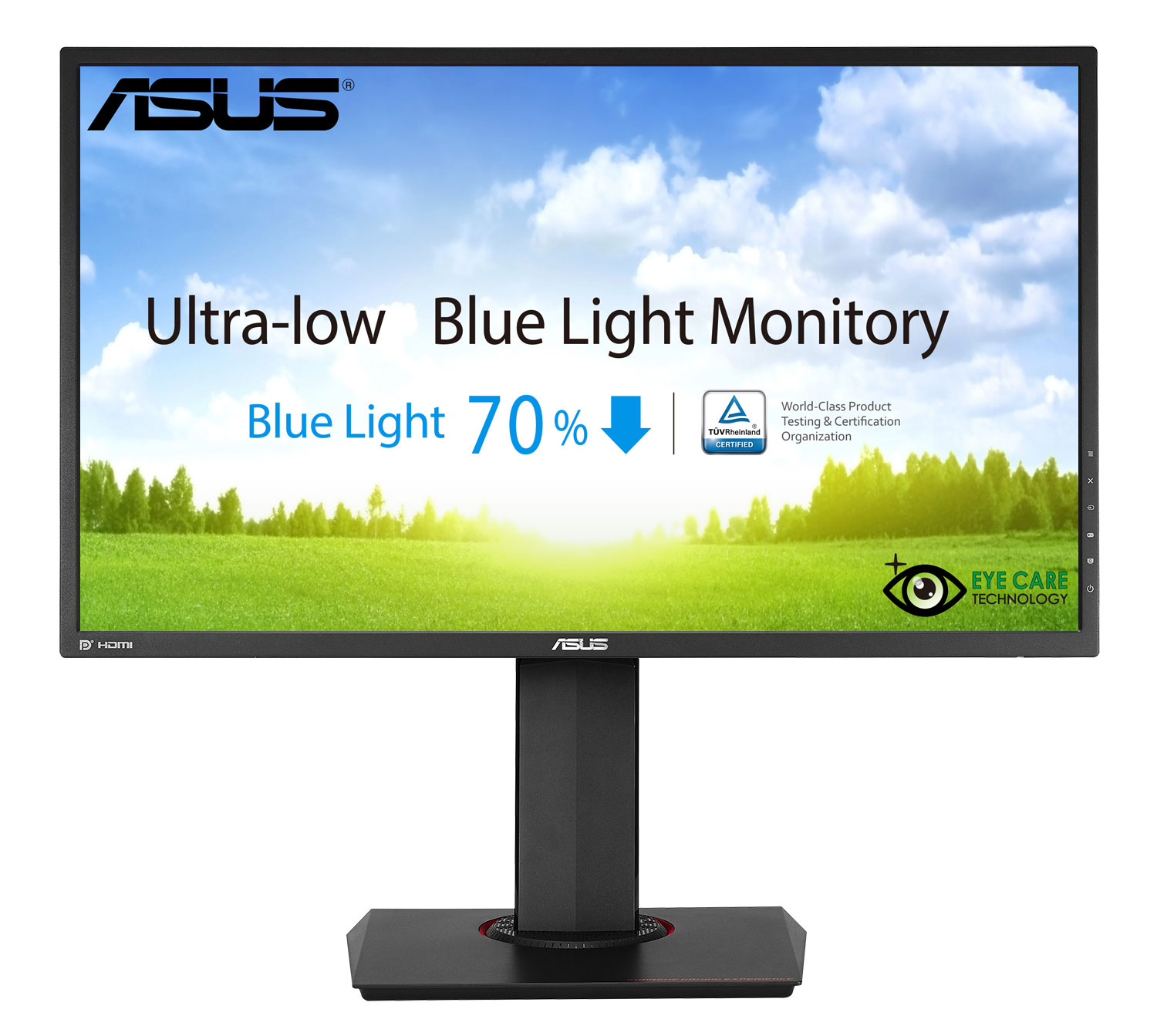 "27"" LED ASUS MG278Q Gaming - WQHD, 16:9, HDMI, DVI, DP, 144Hz, FreeSync, repro."