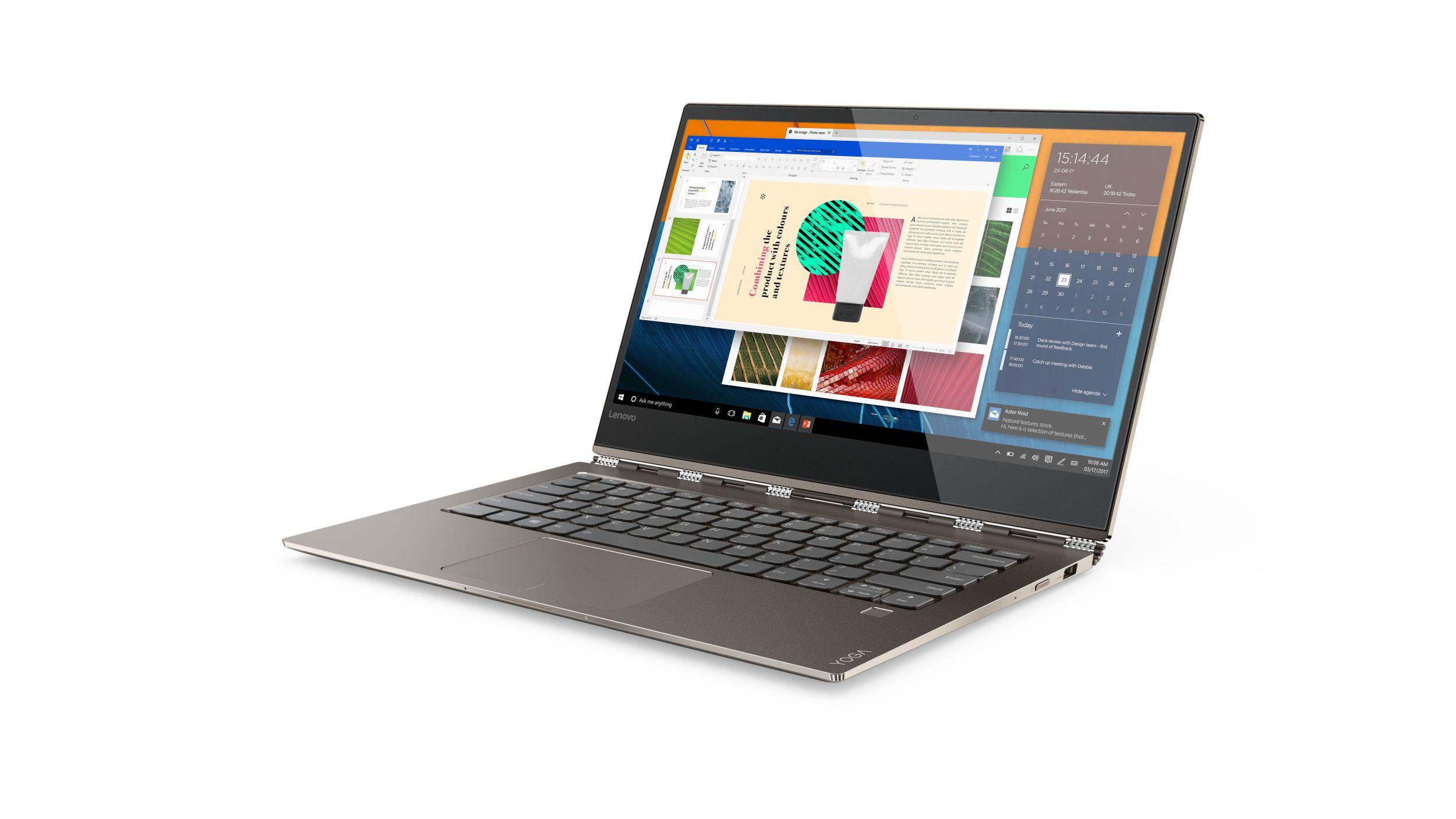 "Lenovo YOGA 920-13IKB i7-8550U 4,00GHz/8GB/SSD 526GB/13,9"" UHD/IPS/multitouch/ActivePen/WIN10 bronzová 80Y70020CK"