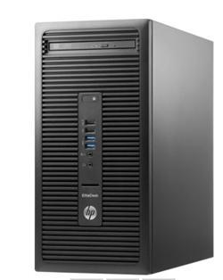 HP EliteDesk 705 G3 MT, Ryzen 5 Pro 1500, R7430/2GB, 8 GB, 256GB SSD, DVDRW, W10Pro, 3y