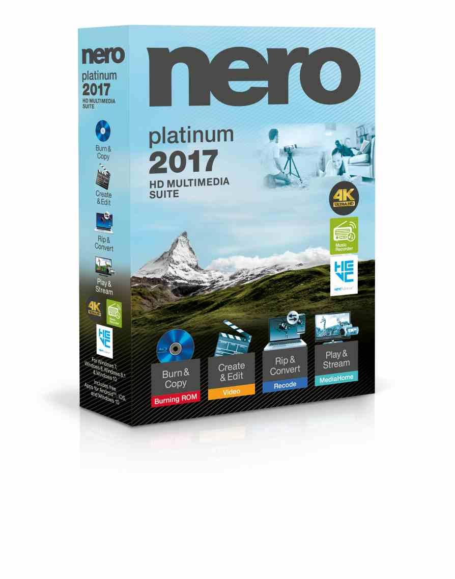 Nero 2017 Platinum - CZ