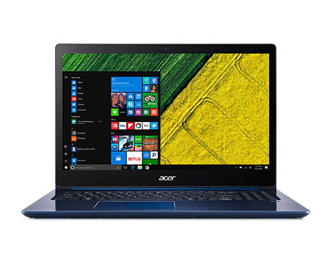 "Acer Swift 3 (SF315-51G-59CQ) i5-8250U/8GB+N/A/128GB SSD M.2+1TB/MX150 with 2 GB/15.6"" FHD IPS/BT//W10 Home/Blue"