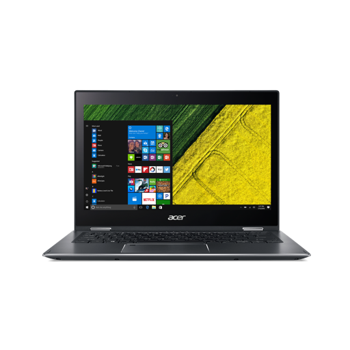 "Acer Spin 5 (SP513-52N-874P) i7-8550U/16GB+N/A/512GB SSD M.2+N/A/HD Graphics/13.3"" Multi-touch FHD IPS/BT/W10 Home/Gray"