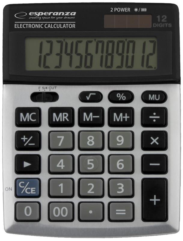 Esperanza ECL102 NEWTON Elektronická stolní kalkulačka