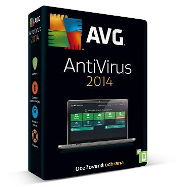 AVG Anti-Virus 2014 OEM, 1 lic. (12 měs.) SN DVD