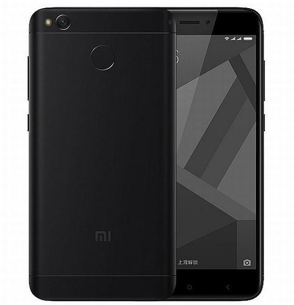 Xiaomi Redmi 4X (3GB/32GB), black