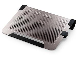 "Coolermaster chladicí ALU podstavec NotePal U3 PLUS pro NTB 15-19"" titanium, 3x8cm fan"