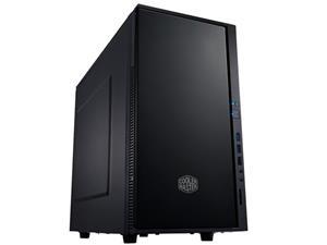 CoolerMaster case minitower Centurion Silencio 352 Matte, mATX,black, USB3.0, bez zdroje, odhlučněný