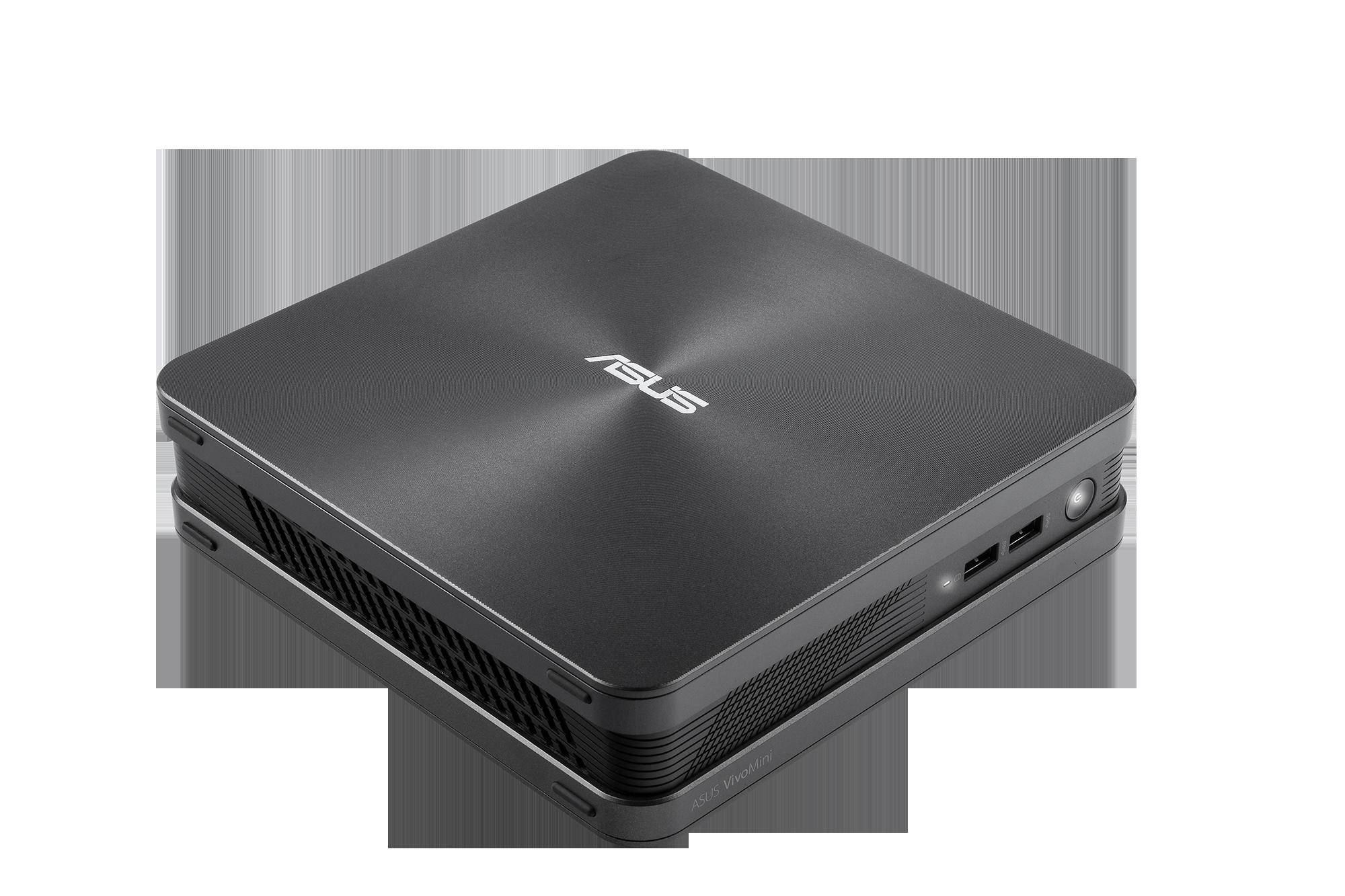 ASUS VivoMini VC65 i5-6400T/2,2GHz/8GB DDR3/128GB SSD+1TB HDD/HDMI/VGA/2xUSB3.1/Win10 +dárek Bitdef.