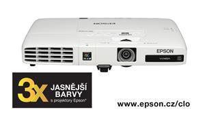 3LCD EPSON EB-1776W 3000 Ansi WXGA 2000:1