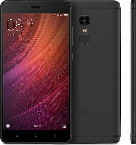Xiaomi Redmi Note 4 (3GB/32GB), black