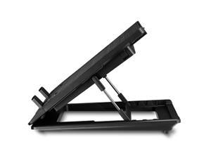 """Coolermaster chladicí podstavec NotePal ErgoStand Lite pro NTB 13-15,6"""", USB hub, black, 16cm fan, stavitelný"""