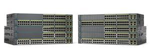 Cisco WS-C2960+24LC-S, 24x FE PoE (8xPoE), 2xT/SFP