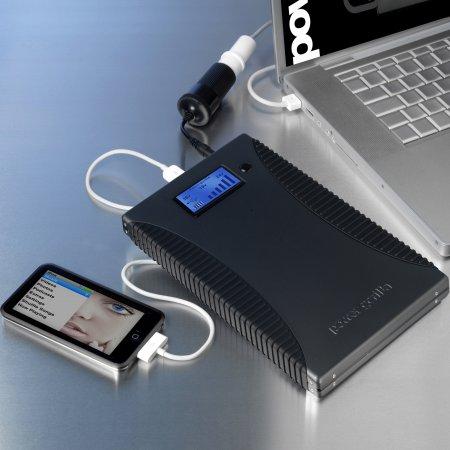 Záložní nabíječka Powergorilla - pro notebooky/netbooky/mt/PDA/GPS/MP3