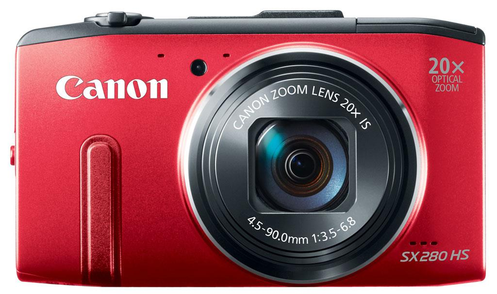 Digital camera Canon PowerShot SX280 | red