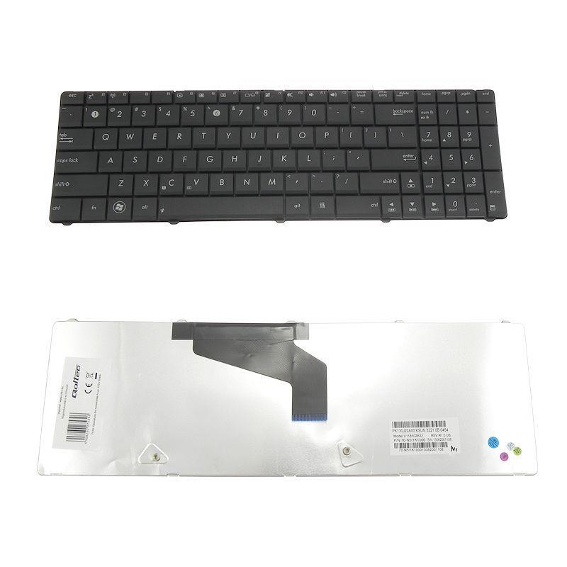 Qoltec Klávesnice pro notebook Asus X53U Black