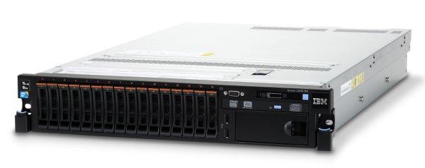 Lenovo SRV x3650 M4, Xeon 6C E5-2620v2 80W 2.1GHz/1600MHz/15MB, 1x8GB, 2x300GB HS 2.5in SAS,SR M5110e,M-Burn,2x550W