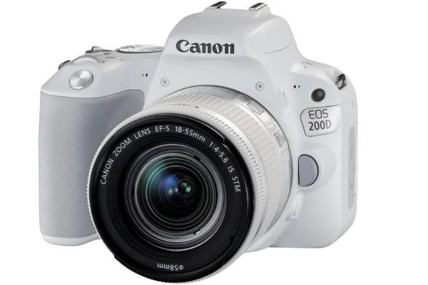 CANON EOS 200D WHITE + EF-S 18-55 f