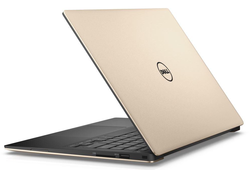 """Dell XPS 13 9360 13"""" FHD i5-7200U/8GB/256GB SSD/HD/MCR/FPR/THB/W10P/3RNBD/Zlatý"""