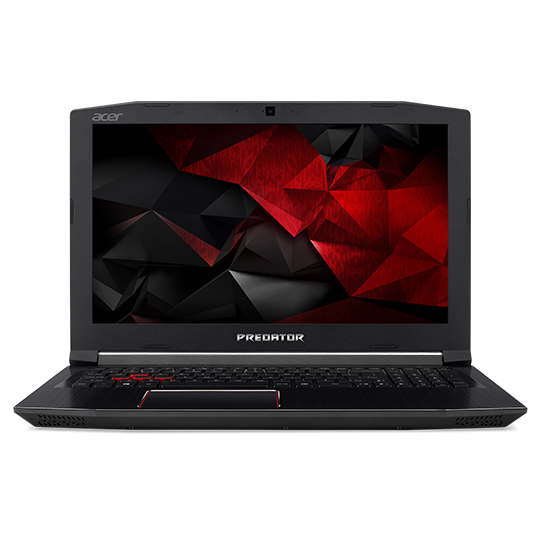 "Acer Predator Helios 300 (G3-572-746U) i7-7700HQ/8GB+N/1TB+N/GeForce GTX 1060 6GB/15.6"" FHD IPS LED matný/BT/W10 Home/Black"