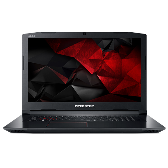 "Repas Acer Predator Helios 300 (PH317-51-724L) i7-7700HQ/8GB+N/1TB+N/ GeForce GTX 1060 6 GB/17.3"" FHD IPS matný/W10 Home/Black"
