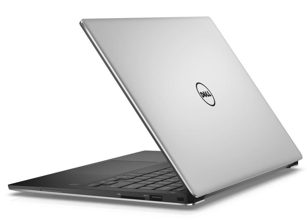 """Dell XPS 13 9360 13"""" Touch QHD+ i7-7500U/8GB/256GB SSD/MCR/FPR/THB/W10P/3RNBD/Stříbrný"""