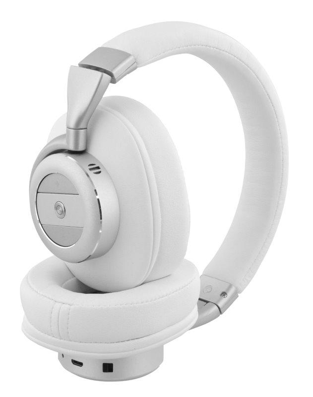 Sweex SWBTANCHS200WH - bezdrátová Bluetooth sluchátka s Active Noise Canceling, bílá