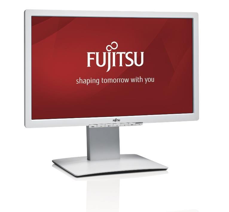 """FUJITSU MT -výprodej- B23T-7 LED IPS 23""""matný, 1920x1080 300cd 5ms DP DVI VGA 2xUSB, repro, VESA 10x10cm, PIVOT,bílý"""