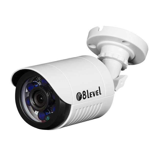 8level outdoor 1MP AHD camera AHB-E720-363-3 BNC IP66 3.6mm 1MP