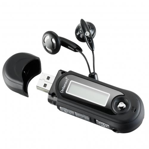 Intenso MP3 přehrávač 8GB Music Walker LCD