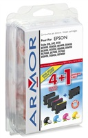 ARMOR cartridge pro Epson Stylus Photo RX425, JUMBO 2B+1C+1M+1Y