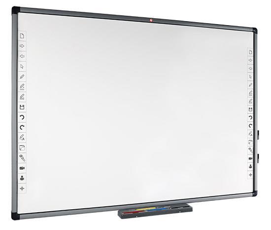 SET: Avtek TT-BOARD 80 Pro + Vivitek DX881ST + WallMount 1200 + příšslušenství